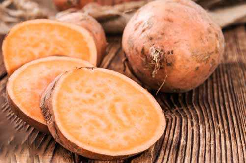 image با مصرف سیب زمینی شیرین دستگاه ایمنی بدن خود را تقویت کنید