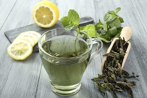 image چای سبز بنوشید تا دندان های سالمی داشته باشید