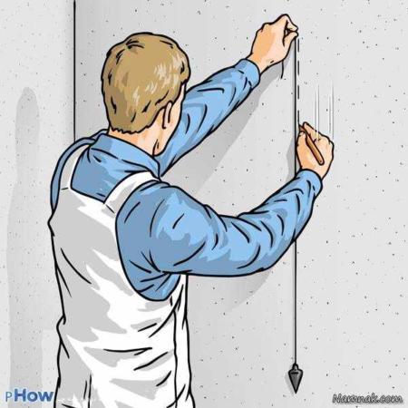 image, آموزش مرحله ای و تصویری نحوه نصب کاغذ دیواری توسط خود شما