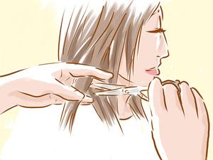 image آموزش کامل و حرفه ای برای کوتاه کردن موی زنانه و رنگ آن در خانه
