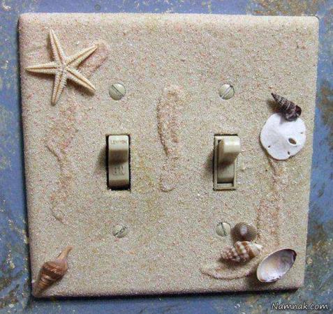 image, کلید و پریزهای برق را چطور در دکوراسین خانه تزیین کنید
