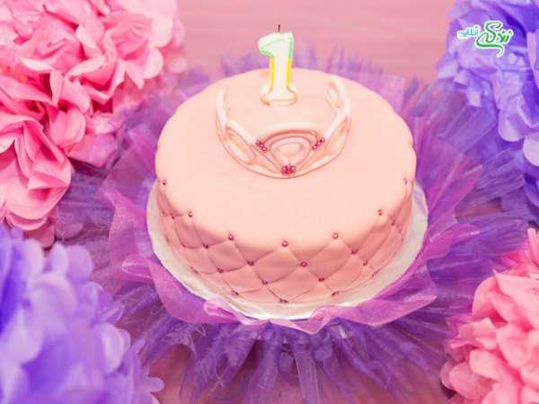 image, ایده های مجلسی و شیک برای تزیین کیک و بیسکویت
