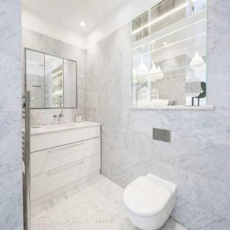 image, عکس های دیدنی از دکوراسیون مدرن خانه سفید در لندن
