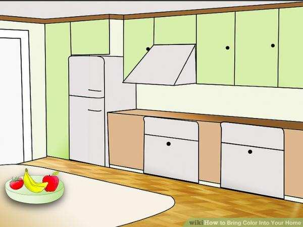 image, چطور خانه خود را با رنگ های شاد و گرم دکور کنید