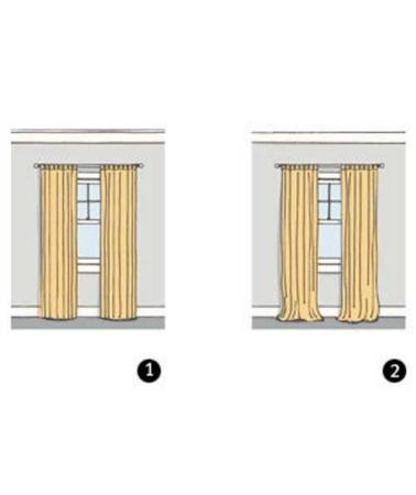 image چطور برای آپارتمان پرده مناسب و شیک انتخاب کنید