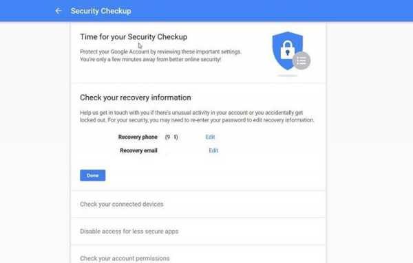 image, آموزش تصویری چک کردن مراحل امنیتی در حساب گوگل