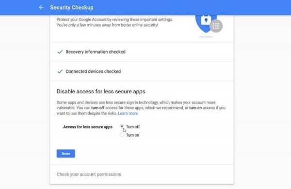 image آموزش تصویری چک کردن مراحل امنیتی در حساب گوگل