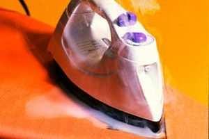 image, ترفندهای پاک کردن و تمیز کردن کف اتو بخار