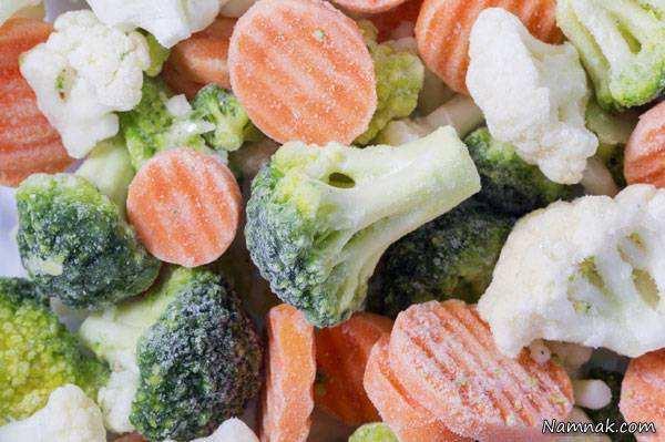 image مواد غذایی را چطور منجمد کنید تا ویتامین های خود را از دست ندهند