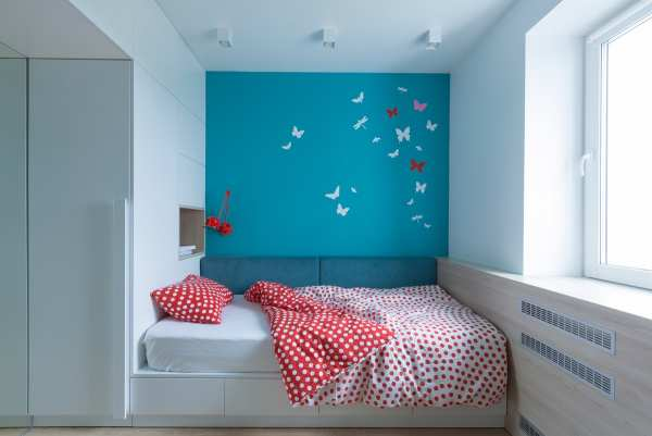 image, گزارش تصویری از دکوراسیون مدرن آپارتمان با رنگ های خاص