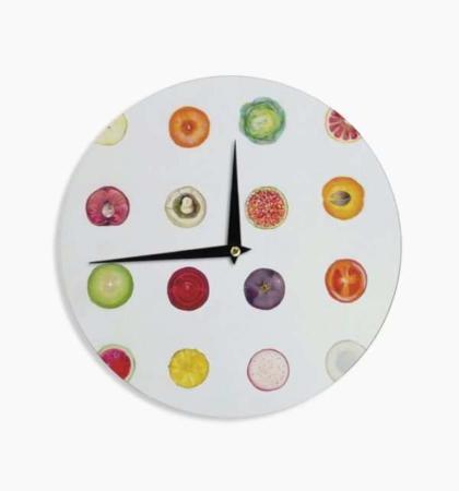 image مدل های شیک و جدید ساعت دیواری مخصوص آشپزخانه
