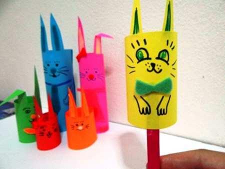 image, آموزش تصویری درست کردن عروسک های مقوایی برای بچه ها