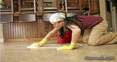 image, چطور سرامیک های آشپزخانه را با مواد طبیعی تمیز کنید