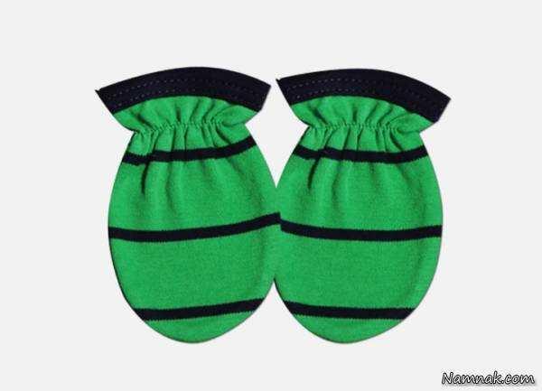 image, آموزش دوخت دستکش های زیبا برای نوزاد