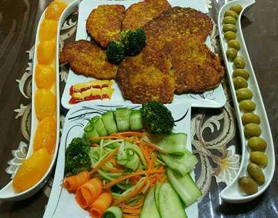 image, آموزش پخت روش اصلی کتلت شیرازی