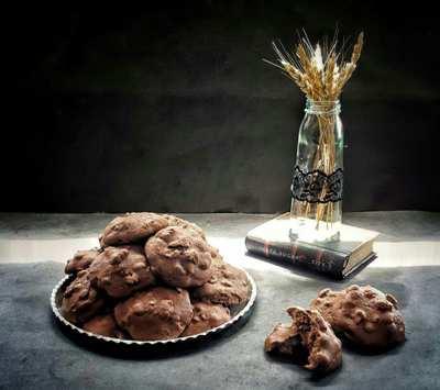 image, آموزش پخت کوکی گردویی به روش اصلی