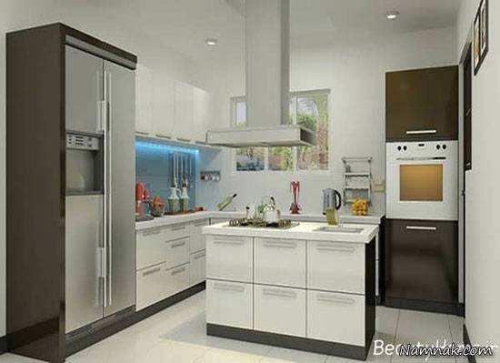 image چطور از کابینت جزیره در دکوراسیون آشپزخانه خود استفاده کنید