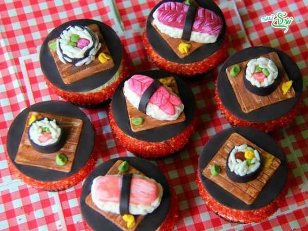image ایده ها و مدل های زیبای طراحی کاپ کیک