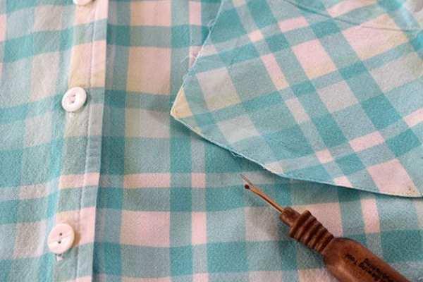 image با لباس های کهنه و قدیمی پیش بند درست کنید آموزش تصویری
