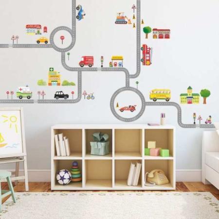 image ایده های جدید و جالب برای دکور اتاق بچه