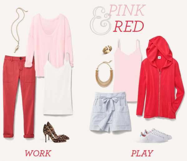 image ترکیب رنگ لباس های تابستانی و شاد مخصوص خانم ها