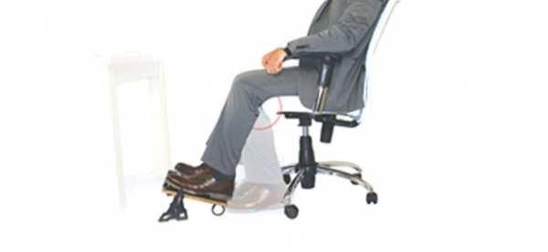 image چرا باید هنگام کار پشت میزی از زیرپایی استفاده کنید