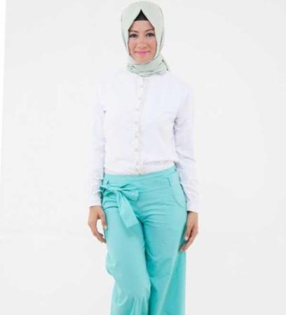 image راهنمایی برای پوشیدن شلوارهای گشاد مخصوص خانم ها