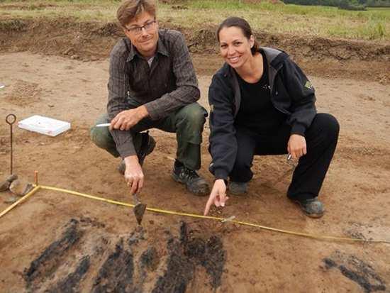 image تصویر دیدنی و جزییات کشف قلعه ۱۰۰۰ ساله وایکینگها دانمارک
