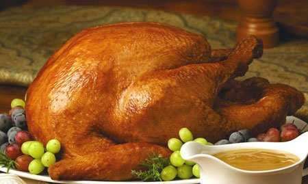 image مدل های مجلسی تزیین مرغ شکم پر برای مهمانی