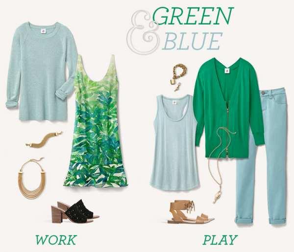 image, ترکیب رنگ لباس های تابستانی و شاد مخصوص خانم ها