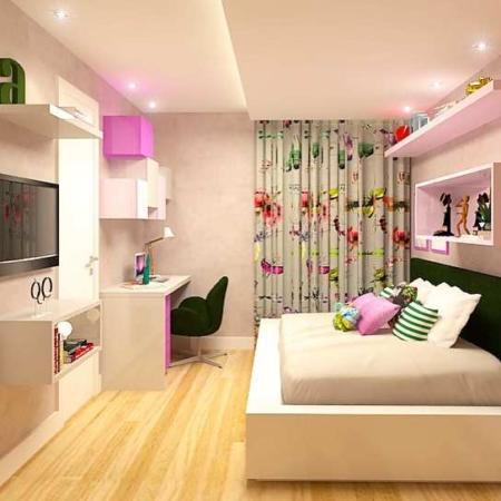 image ایده شیک و مدرن برای طراحی اتاق خواب کوچک نوجوان