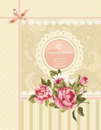 image ایده های طراحی کارت پستال با طرح گل برای گرافیست ها