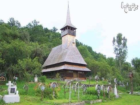 image, تصاویر زیبا از کلیساهای چوبی در رومانی