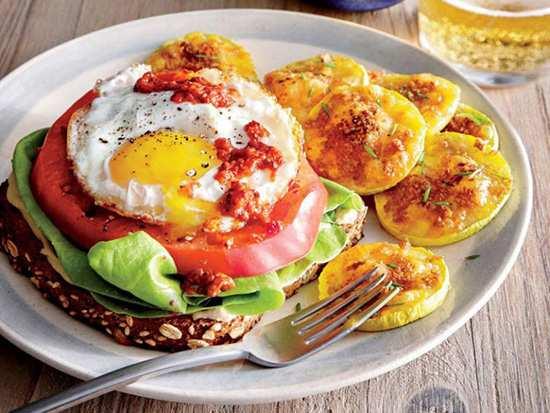 عکس, طرز تهیه ساندویچ تخم مرغ مقوی برای عصرانه
