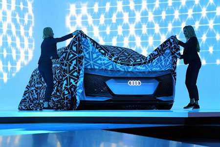 image, رونمایی خودروی خودران شرکت آئودی در نمایشگاه آلمان