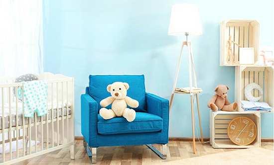 image بهترین چیدمان و دکور برای اتاق نوزاد چطوری است