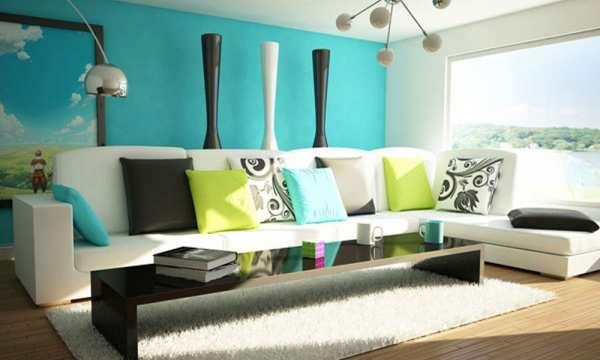image ترفندهایی برای شیک شدن دکوراسیون اتاق نشیمن آپارتمان