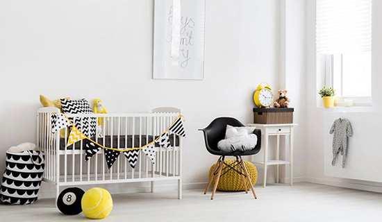image, بهترین چیدمان و دکور برای اتاق نوزاد چطوری است