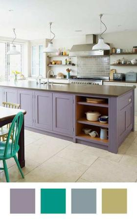image چطور از رنگ بنفش در دکوراسیون منزل استفاده کنید