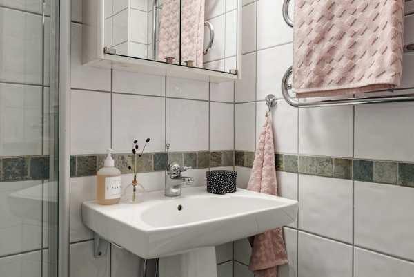 image ترفندهای چیدمان شیک برای حمام کوچک در آپاتمان