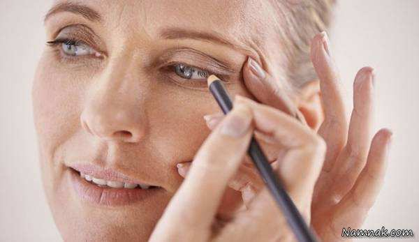 image, خانم های میانسال چطور باید مناسب آرایش کنند