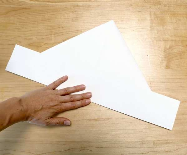 image, چطور به سادگی با کاغذ کلاه درست کنید