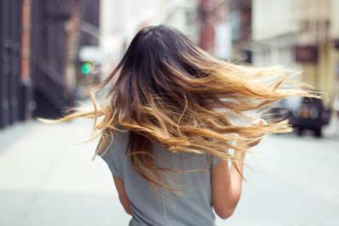image آموزش حرفه ای رنگ کردن موهای بلند در خانه