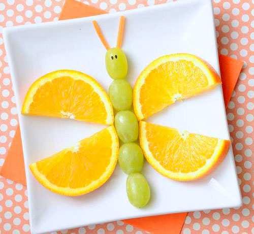 image عکس تزیین غذا برای بچه های کوچک
