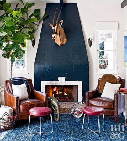 image چطور چیدمان خانه خود را زمستانی کنید