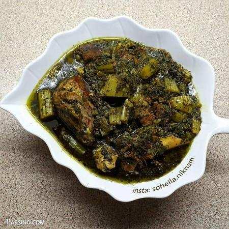 image, آموزش پخت خورش کرفس مخصوص سرآشپز