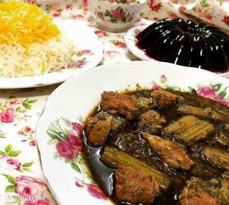 image آموزش پخت خورش کرفس مخصوص سرآشپز