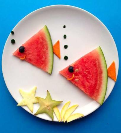 image, عکس تزیین غذا برای بچه های کوچک