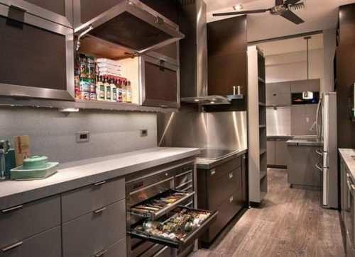 image چطور در آشپزخانه کوچک جا ادویه های مناسب استفاده کنید