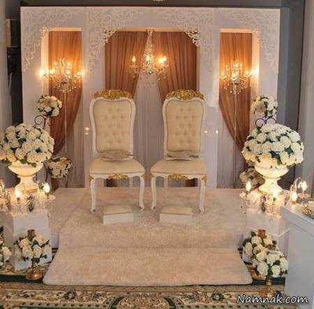 image دکور مدل های جدید و شیک جایگاه عروس و داماد